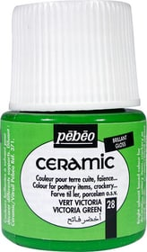 PÉBÉO Ceramic Keramikmalfarbe 28 Victoria Green 45ml Pebeo 663510001400 Farbe Victoriagrün Bild Nr. 1