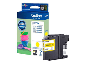 LC-221Y  jaune Cartouche d'encre Brother 785300124048 Photo no. 1