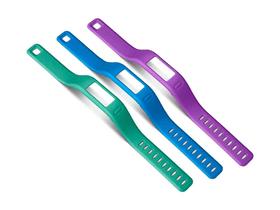 Vivofit Armbänder, Small, turquoise/lila/bleu