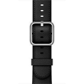 Bracelet Boucle classique noir 38 mm