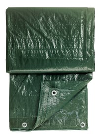 Gewebeplane grün, 4x6m mit Ösen Baufolien Color Expert 661941900000 Bild Nr. 1