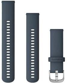 22mm Braccialetto a cambio rapido granito blu argento Braccialetto Garmin 785300159881 N. figura 1
