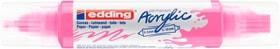 edding Acrylmarker 5400, double liner, neonpink Acrylmarker 668047400000 Bild Nr. 1