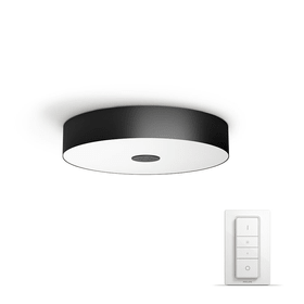 HUE FAIR Applique/Plafonnier Philips hue 420388200000 Dimensions H: 9.9 cm x D: 44.4 cm Couleur Noir, Blanc Photo no. 1