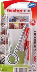 DUOPOWER 10 x 50 avec crochet piton Cheville universelle fischer 605441600000 Photo no. 1