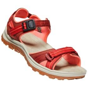 Thargee III Open Toe Sandal Sandales pour femme Keen 493453937533 Couleur rouge foncé Taille 37.5 Photo no. 1