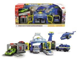 Polizei-Spielset mit Kommandozentrale, Drohnenstarter, Shootingrange und Gefängnis Spielfahrzeug Dickie Toys 746235400000 Bild Nr. 1