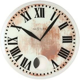 Horloge murale Diamètre blanc Romana Horologe murale NexTime 785300140019 Photo no. 1