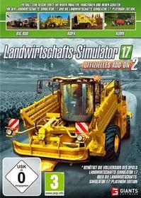 PC - Landwirtschafts Simulator 2017 - Offizielles Add-On 2 (D) Box 785300132696 Bild Nr. 1