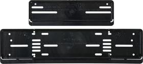 Kennzeichenhalter-Set Kunststoff lang Nummernrahmen Miocar 620623400000 Bild Nr. 1