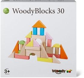 Woody 30 blocs de constructcolorés (FSC) Sets de jeu 746386600000 Photo no. 1