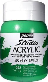 Pébéo High Viscosity Studio 500ml Pebeo 663534271043 Farbe Kadmiumgrün Imit. Bild Nr. 1