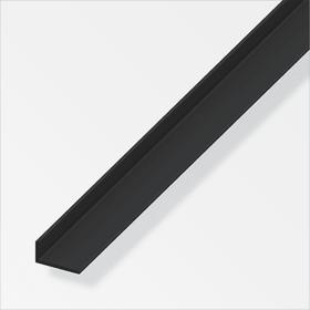 Winkel-Profil ungleichschenklig 2 x 20 x 25 mm PVC schwarz 1 m alfer 605142100000 Bild Nr. 1