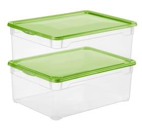 Lot de 2 boîtes Clear Men Shoe Rotho 603716500000 Photo no. 1