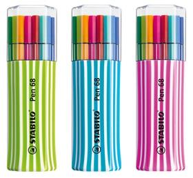 Pennarello Premium STABILO® Pen 68, 15 pennarelli Stabilo 665457500000 N. figura 1