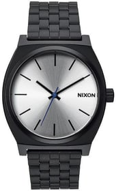 Time Teller Black Silver 37 mm Montre bracelet Nixon 785300136941 Photo no. 1