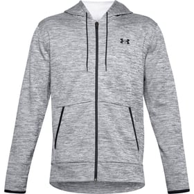 Armour Fleece FZ Hoodie Sweat à capuche pour homme Under Armour 468020500380 Taille S Couleur gris Photo no. 1