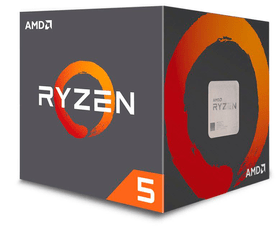 Processore Ryzen 5 1400 4x 3.2 GHz AM4 boxed