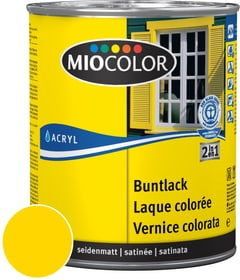 Acryl Vernice colorata satinata Giallo navone 750 ml Acryl Vernice colorata Miocolor 660554900000 Colore Giallo navone Contenuto 750.0 ml N. figura 1
