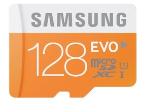 microSDXC Card Evo 128Go Micro SD Samsung 797951300000 Photo no. 1