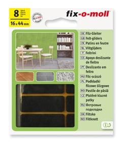 Patins de feutre 3 mm / 44 x 16 mm 8 x Patins de feutre Fix-O-Moll 607068900000 Photo no. 1