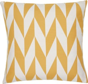 ALEXIA Coussin décoratif 450736940852 Couleur Jaune Dimensions L: 45.0 cm x H: 45.0 cm Photo no. 1