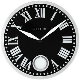 Horloge murale Romana noir diam Horologe murale NexTime 785300140018 Photo no. 1