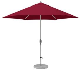 SHELL-TURN 330 cm Ombrellone Suncomfort by Glatz 753040600030 Colore del rivestimento Rosso N. figura 1