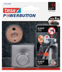 Powerbutton ganci classic angolare Gancio adesivo Tesa 675276100000 N. figura 1