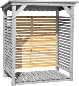 Parete di fondo per scaffale per legna da caminetto 647107700000 N. figura 1