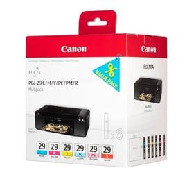 PGI-29  multipack CMY/PC/PM/R Cartouche d'encre Canon 785300126223 Photo no. 1