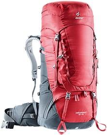 Aircontact 45 + 10 Sac à dos de trekking Deuter 460283200088 Taille Taille unique Couleur bordeaux Photo no. 1