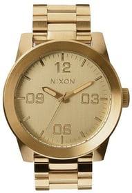 Corporal SS All Gold 48 mm Montre bracelet Nixon 785300136976 Photo no. 1