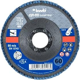 CUT-FIX® Schleifmop für Metall ø 115 mm, K60 kwb 610522100000 Bild Nr. 1