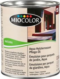 Emulsione per parquet da giardino, Aqua Marrone 750 ml Miocolor 661283500000 Colore Marrone Contenuto 750.0 ml N. figura 1