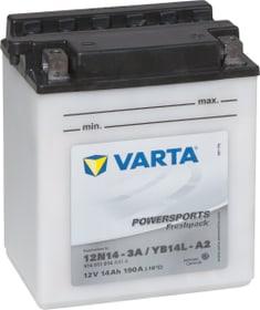 Motorradbatterie 12N14-3A / YB14L-A2 12V 14Ah 140A