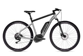 Square Cross B2.9 Vélo de trekking électrique Ghost 464830600587 Couleur argent Tailles du cadre L Photo no. 1