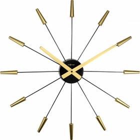 Horloge murale Plug Inn Gold Through Horologe murale NexTime 785300140007 Photo no. 1
