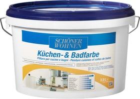 Pittura per cucine e bagni Bianco 2.5 l Dispersione Schöner Wohnen 660912700000 Contenuto 2.5 l N. figura 1