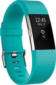 Charge 2 Teal / Silver Large