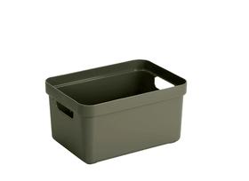 Sigma home Box 5L Aufbewahrungsbox 603756100000 Farbe Dunkelgrün Grösse L: 252.0 mm x B: 175.0 mm x H: 122.0 mm Bild Nr. 1