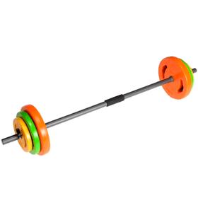 Set complet d'haltères Aerobic Pump 20kg Tunturi 463080100000 Photo no. 1