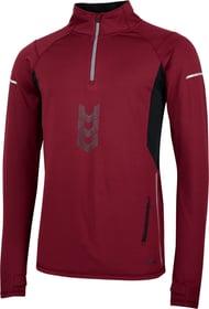 Pullover pour homme Perform 470172000388 Couleur bordeaux Taille S Photo no. 1