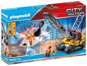 PLAYMOBIL 70442 Dragline avec mur de construction 748033500000 Photo no. 1