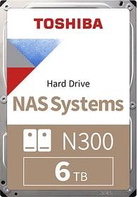 """N300 High Reliability  6TB 3.5"""" SATA (BULK) HDD Intern Toshiba 785300137559 Bild Nr. 1"""