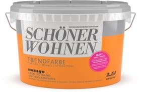 Trendfarbe Matt Mango 2.5 l Wandfarbe Schöner Wohnen 660906400000 Inhalt 2.5 l Bild Nr. 1