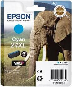 24XL Claria Photo cartuccia d'inchio cyan