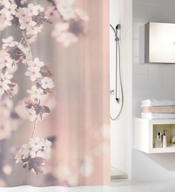 Tenda doccia Blossom garofano 180x200cm Kleine Wolke 674139000000 N. figura 1