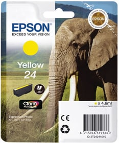 T24 jaune Cartouche d'encre Epson 798553200000 Photo no. 1