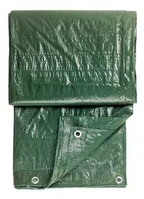 Gewebeplane gruen, 2x3m mit Ösen 661941600000 Bild Nr. 1